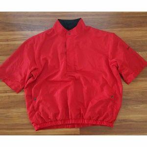 Footjoy DRYJOYS Mens XXL 2XL RED PULLOVER Jacket
